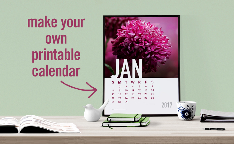 Make Your Own Calendar