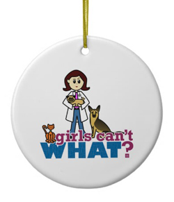 girl_veterinarian_ornament