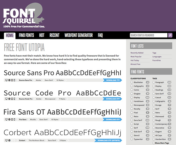 Finding Fonts for Your Brand: 5 Free for Commercial Use Resources