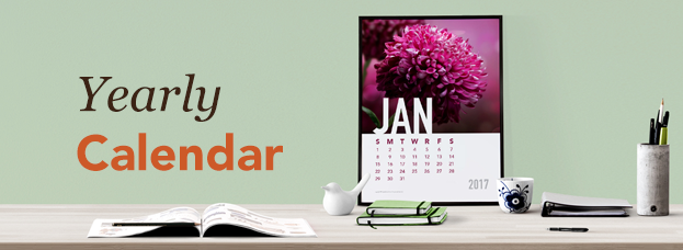 Yearly Calendar Project Graphic