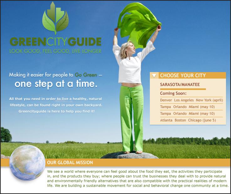 GreenCityLandingPage